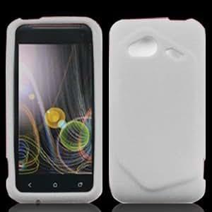 For Verizon HTC Fireball 6410 Accessory - Clear Silicon Skin Case Protector Cover + Lf Stylus Pen