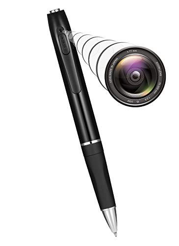 🥇 Spy Camera Mini Hidden Camera Pen HD 1080P Video Recorder