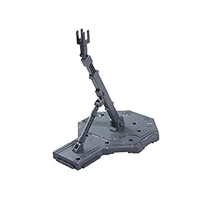 Bandai Hobby Action Base 1 Display Stand (1/100 Scale), Gray: Toys & Games