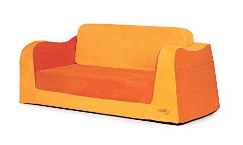 P'kolino Little Sofa / Sleeper - Orange Sleeper Upholstered Sofa