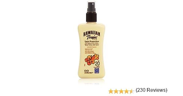HAWAIIAN Tropic - Satén Protección - Loción Solar, Factor de ...