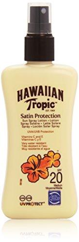 Hawaiian Tropic Satin Protection Sun Spray Lotion LSF 20, 1er Pack (1 x 200 ml)
