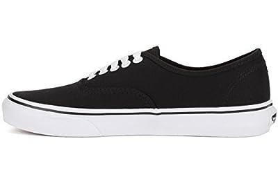 Vans Unisex Pop Authentic Skate Shoe (7 D(M) US, Black/Bittersweet)