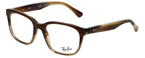 Ray-Ban RB5340 F 5542 Eyeglasses Brown Horn Grade Trasp Beige