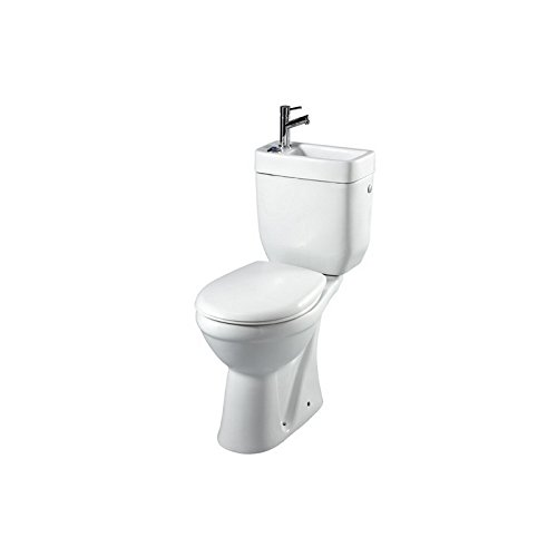 Pack wc sur/élev/é Sortie Horizontale avec lave mains int/égr/é