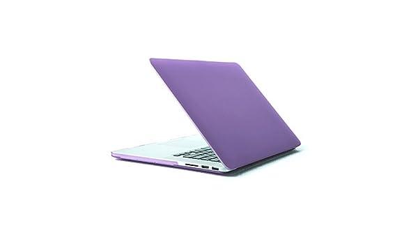 Amazon.com: eDealMax portátil de plástico Duro de la cubierta del Protector de la caja púrpura Para MacBook Pro Retina DE 15 pulgadas: Electronics