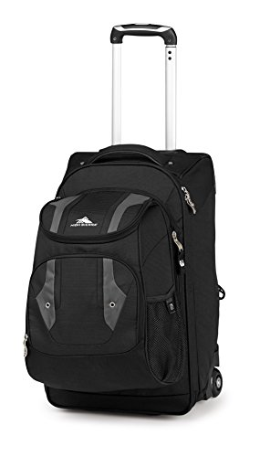 Access Rolling Backpack (High Sierra Adventure Access Carry On Wheeled Backpack, Black/Charcoal)