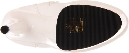 Pleaser Adore-3000 - Botas Mujer Blanco (Weiss (Wht Str Pat/Wht))