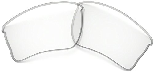Oakley 100-738-006 Quarter Jacket Replacement Lens Kit Clear ()