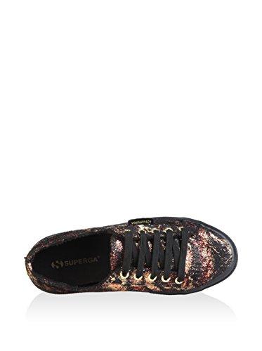 Superga Zapatillas Negro / Oro / Rojo