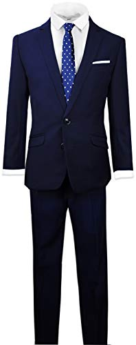 Black n Bianco Signature Boys' Slim Fit Suit