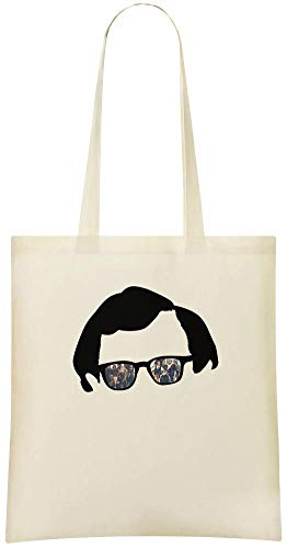 Shoulder Eco 100 woody Use Soft allen glasses For Custom Grocery Stylish Custom Everyday Friendly Cotton woody amp; Tote Bag Bags Printed Handbag lunettes allen qOfxAqB