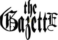 GAZETTE J-POP ROCK BAND LOGO STICKERS ROCK BAND SYMBOL 6' DECORATIVE DIE CUT DECAL - BLAC