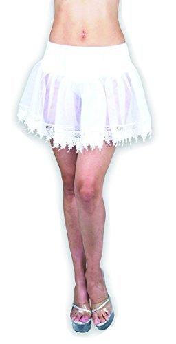 Pink Teardrop Petticoat (Charades Costumes - Pink Tear Drop Petticoat Adult)