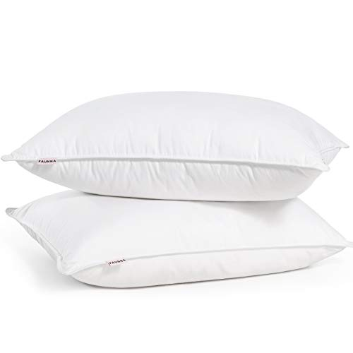 FAUNNA Hotel Collection Gel Pillow (2-Pack) - Luxury Plush Gel Pillow