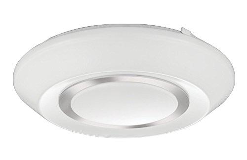 Lithonia Pendant Lighting - Lithonia Lighting FMGRGL 14 20830 KR M4 Glenridge LED 3000K Flush Mount Round Ceiling Light, 14-Inch, Silver