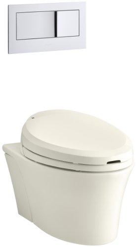 KOHLER K-6304-96 Veil Elongated Dual-Flush Wall-Hung Toilet