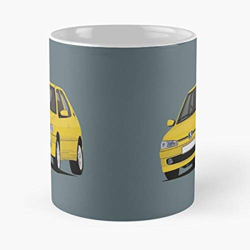 (Peugeot 306 Gti S16 Pug - Best Gift Coffee Mugs 11 Oz Father Day)