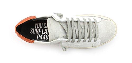 E8JOHN P448 Sneaker 41 Taglia Colore Whi Bianco Ora q5vHx6A
