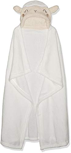Rene Rofe Baby Newborn Unisex Hooded Baby Blanket, Neutral, One Size