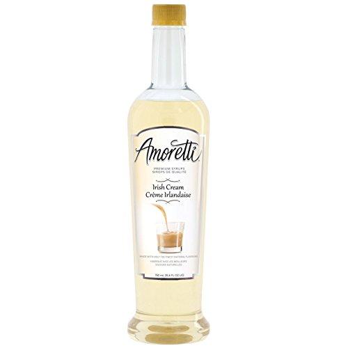 Irish Liqueur (Amoretti Premium Syrup, Irish Cream, 25.4 Ounce)