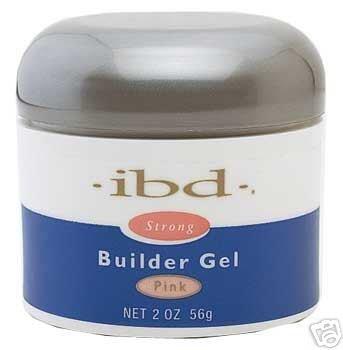 Clear Tips Ibd (IBD UV Builder Gel Nails Acrylic Pink 2 oz)
