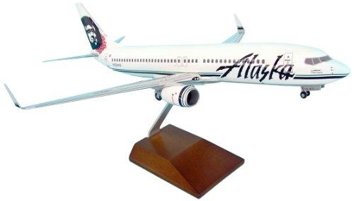 Daron Skymarks Alaska 737-800 Eskimo Model Kit with Flowe...