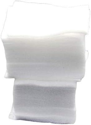 200 pelusa toallitas para uñas suaves toallitas para arte de uñas papel limpio almohadillas de algodón puro no tejido removedor de esmalte de uñas maquillaje arte de uñas - blanco: Amazon.es: Belleza