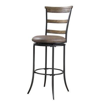 Charleston Swivel Ladder Back Bar Stool
