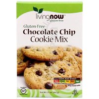 NOW Gluten Free Chocolate Chip Cookie Mix,  17-Ounce (Pack of 2)