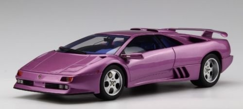Lamborghini Diablo SE 30 Jota Violet Limited Edition to 500 Pieces Worldwide 1/18 Model Car by Kyosho KSR 18501 V-B