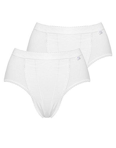 Sloggi Womens Control Tai 2 Pack size 12 in White