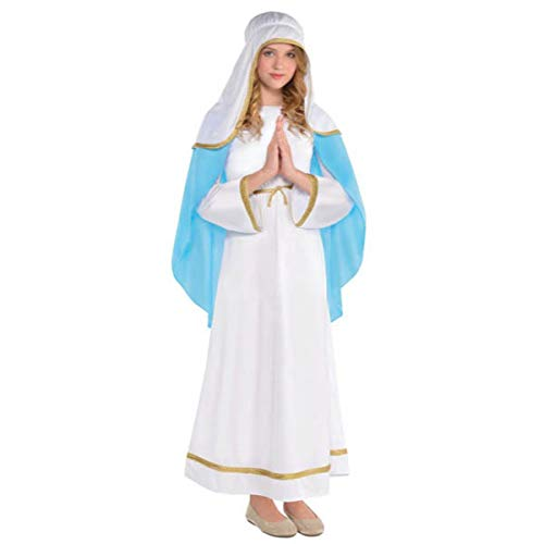 Amscan Girls Holy Virgin Mary Costume - Small (4-6) | 2 Ct. -