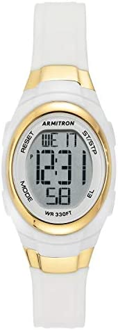 Armitron Sport Women s 45 7034 Digital Chronograph Resin Strap Watch