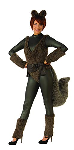 Squirrel Costume Tail (Charades Marvel Squirrel Girl  Adult Costume, As Shown,)