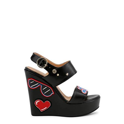 Love Moschino JA1603CE15IC Women's Wedge Shoe Black