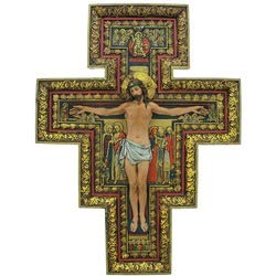 Renaissance Collection Joseph s Studio by Roman Exclusive San Damiano Cross, 17.75-Inch