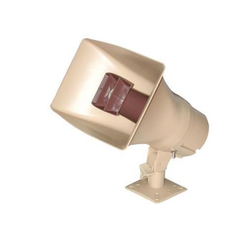 VALCOM VC-V-1038 30Watt 1Way Paging Horn - Beige - NEW - White Box - VC-V-1038