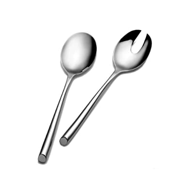 Towle Living Wave 2-Piece Stainless Steel Salad Serving Set