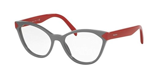 Prada PR02TV Eyeglass Frames UR91O1-54 - Grey - Frames Eye Prada