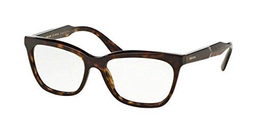 Prada JOURNAL PR24SV Eyeglass Frames 2AU1O1-53 - - Glasses Mens Prada