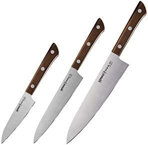 Samura Harakiri - Juego de cuchillos de cocina japoneses ...