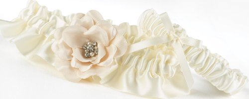 Hortense B. Hewitt Love Blooms Wedding Accessories, Garter ()