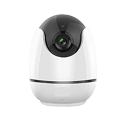 WiFi IP Security Camera 1080P Wireless Home Surveillance Camera for Baby/Elder/Pet/Nanny Monitor, Pan/Tilt, Two-Way Audio?Motion Detection & Night Vision AT-200RW from ALPTOP