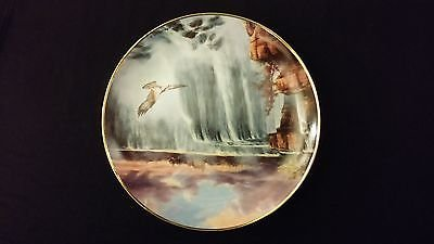 1993 God Bless America Cascading Thunder Danbury Mint Collector Edition Plate 1993 Danbury Mint