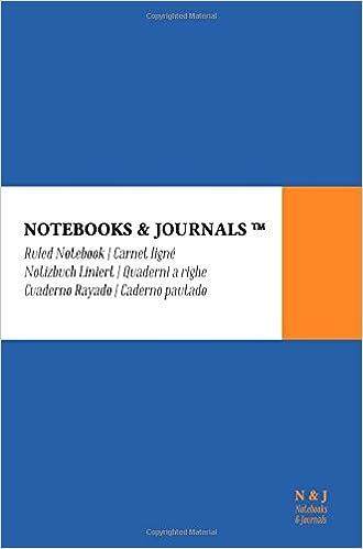 Cuaderno Notebooks & Journals, Pocket, Rayado, Azul, Tapa ...