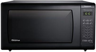Panasonic NN-SN736B Black 1.6 Cu. Ft. Countertop Microwave Oven with Inverter Technology (Renewed)