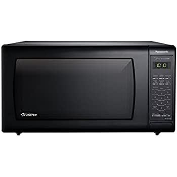 Amazon Com Panasonic Nn Sn736b Black 1 6 Cu Ft