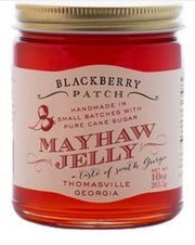 Wild Mayhaw Jelly – Blackberry Patch 10 oz – Made In The USA, 100% Natural Authentic Old Fashioned Handmade in Small Batches, replaces Jam and Jelly, Sweet Raspberry and Mayhaw Fruit Flavors