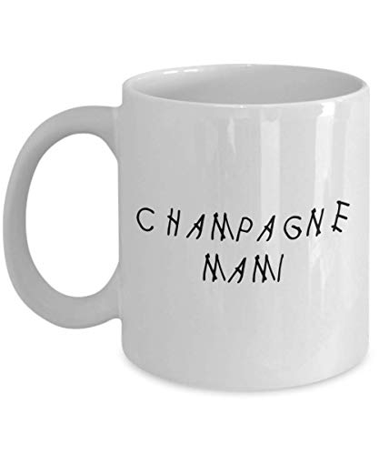 MyFaveGift Drake Feelings Drizzy Champagne Mami Papi 11oz Coffee Mug Cup Gifts For Drake Lover